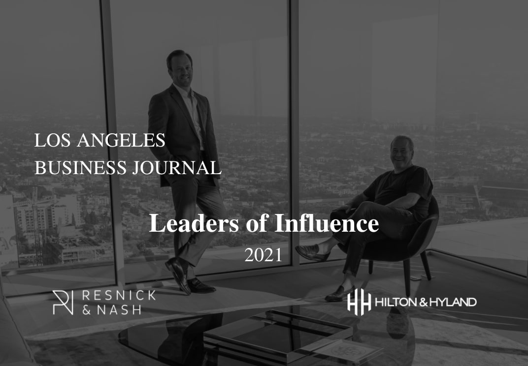 LA Business Journal: Leaders of Influence