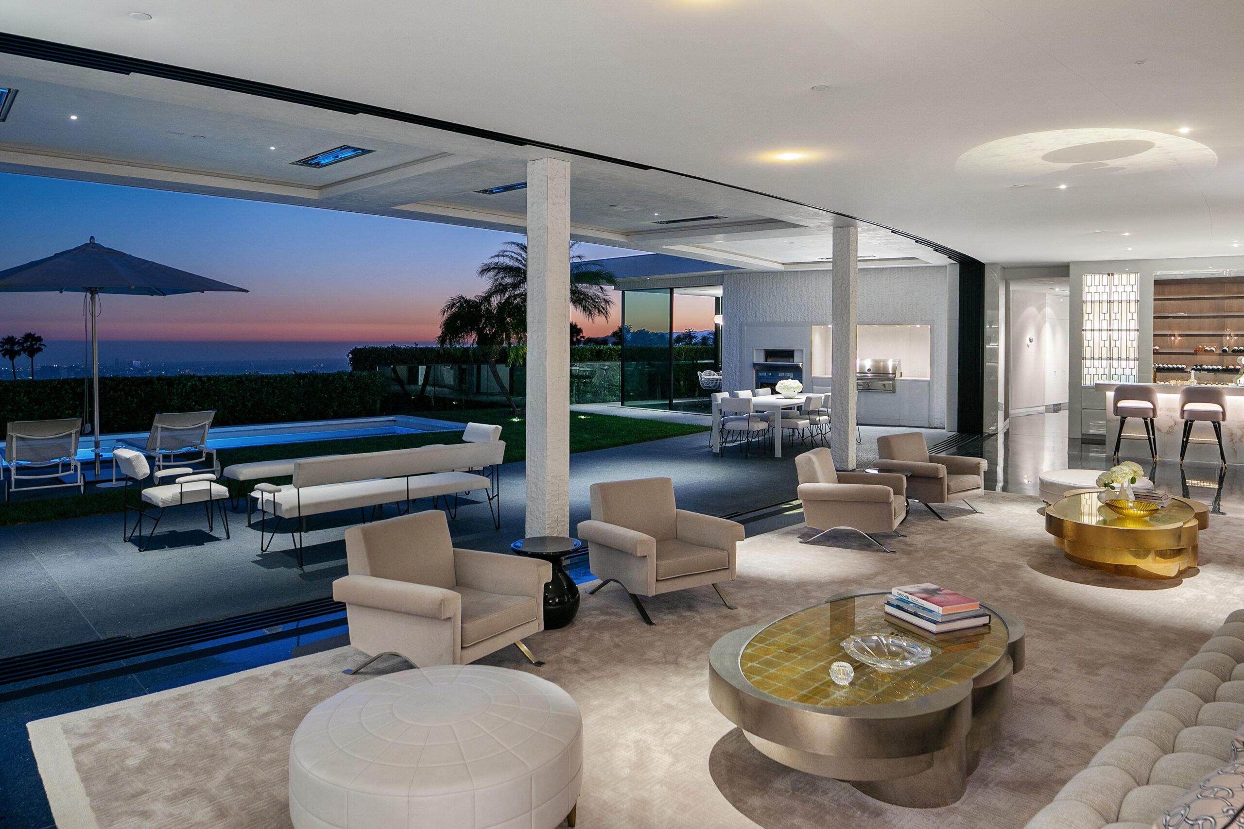 $38 Million Modern Masterpiece By Studio William Hefner Lists In Beverly Hills